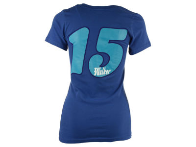 Charlotte Hornets Kemba Walker 5th & Ocean NBA Womens V-neck Player T-Shirt