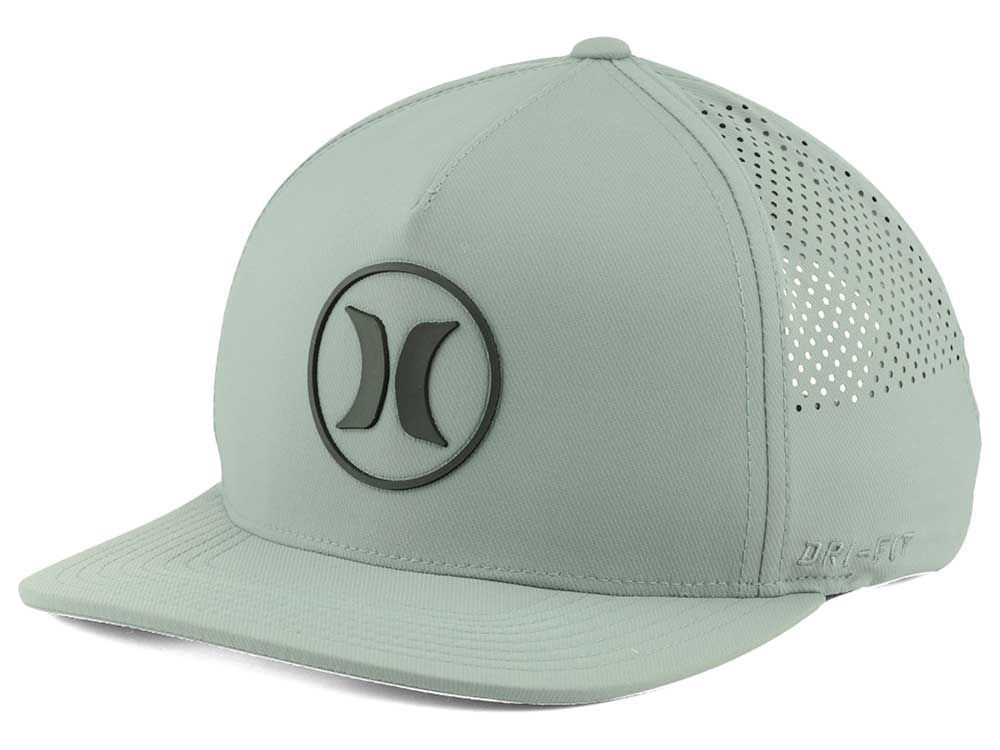 detailed look 7040b a4f5a Hurley Dri-Fit Icon Snapback Hat   lids.com