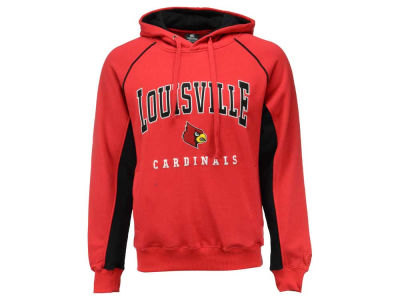 Louisville Cardinals NCAA 2015 Men's Crest Pullover Hooded Sweatshirt