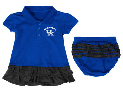 Kentucky Wildcats NCAA Newborn Bella Ruffle Dress