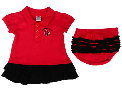Louisville Cardinals NCAA Newborn Bella Ruffle Dress