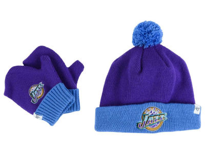Utah Jazz '47 NBA HWC Toddler '47 BAM BAM Knit Set