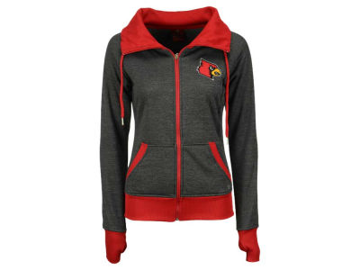 Louisville Cardinals NCAA Women's Cowl Neck Full Zip Jacket