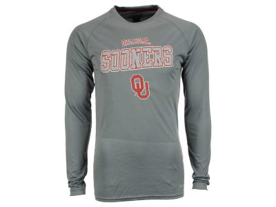 Oklahoma Sooners NCAA Men's Beast Poly Long Sleeve T-Shirt
