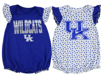 Kentucky Wildcats Outerstuff NCAA Newborn Girls Polka Fan Set