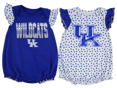 Kentucky Wildcats Outerstuff NCAA Infant Girls Polka Dot Fan Set