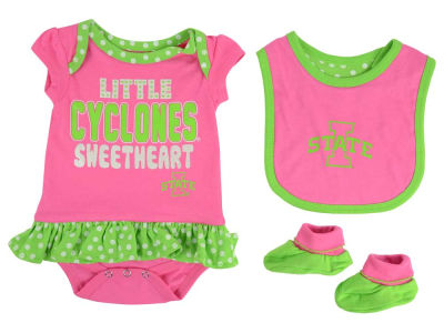 Iowa State Cyclones Outerstuff NCAA Newborn Girls Pink Little Sweet Set