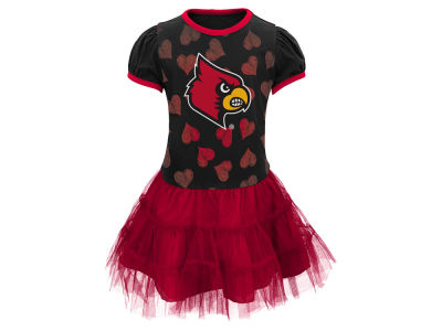 Louisville Cardinals NCAA Toddler Love To Dance Dress
