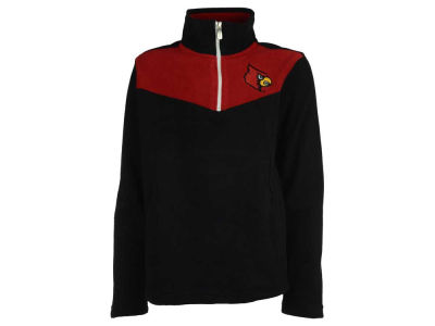 Louisville Cardinals NCAA Youth Break Point 1/4 Zip Pullover Shirt