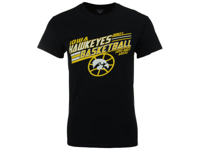 Iowa Hawkeyes Blue 84 NCAA Women's Arena Basketball T-Shirt