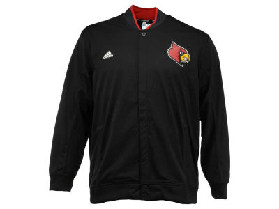 Louisville Cardinals adidas NCAA Men's On-Court 3X-4X Warm Up Snap Jacket
