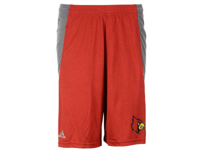 Louisville Cardinals adidas NCAA Men's 3X-4X Primary Screen Clima Shorts
