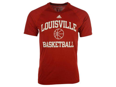 Louisville Cardinals adidas NCAA Men's Collegiate Sports Basketball Short Sleeve T-Shirt