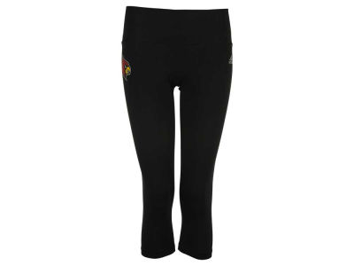 Louisville Cardinals adidas NCAA Women's Logo Driven Capri Tights