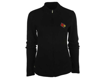 Louisville Cardinals adidas NCAA Womens Full Zip Micro Fleece Jacket