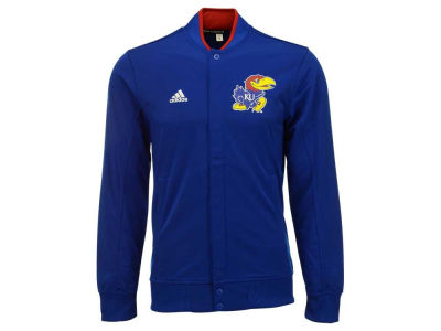 Kansas Jayhawks adidas NCAA Men's On-Court Warm Up Snap Jacket
