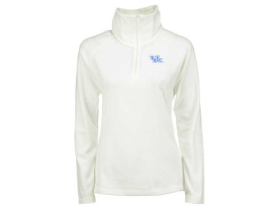 Kentucky Wildcats NCAA Women's Collegiate Glacial Half Zip Fleece Pullover Shirt