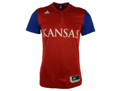Kansas Jayhawks adidas NCAA Men's On-Court Short Sleeve Shooter T-Shirt
