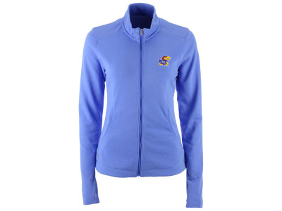 Kansas Jayhawks adidas NCAA Womens Full Zip Micro Fleece Jacket
