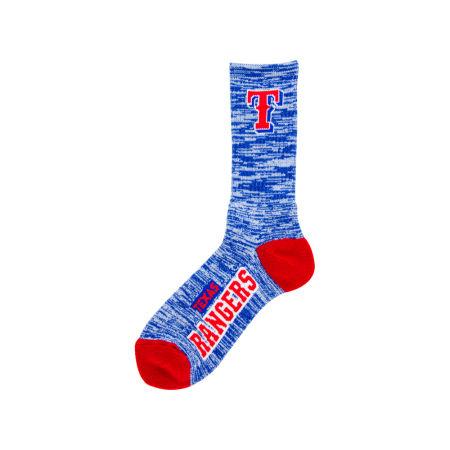 Texas Rangers For Bare Feet RMC 504 Crew Socks