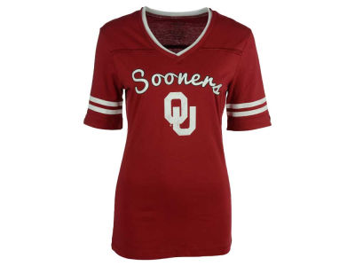 Oklahoma Sooners NCAA Women's Fair Catch T-Shirt