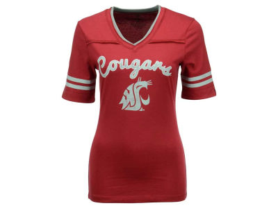 Washington State Cougars NCAA Women's Fair Catch T-Shirt