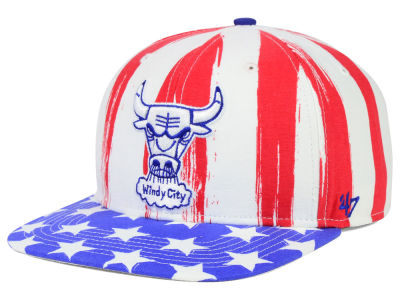 Chicago Bulls '47 NBA HWC '47 Log Cabin Snapback Cap