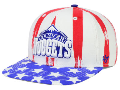 Denver Nuggets '47 NBA HWC '47 Log Cabin Snapback Cap