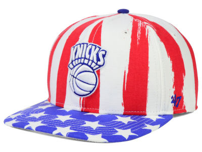 New York Knicks '47 NBA HWC '47 Log Cabin Snapback Cap