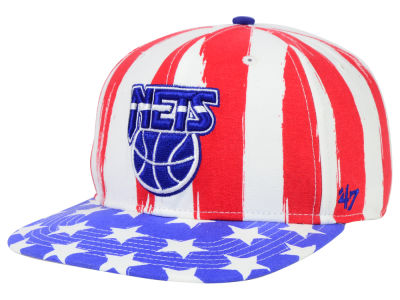 New Jersey Nets '47 NBA HWC '47 Log Cabin Snapback Cap