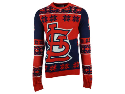 St. Louis Cardinals La Tilda MLB Men's Big Logo Ugly Sweater