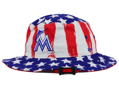 Miami Marlins '47 MLB '47 Log Cabin Bucket