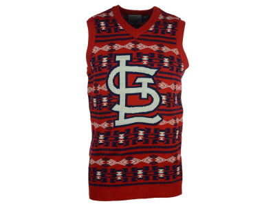 St. Louis Cardinals La Tilda MLB Men's Ugly Sweater Vest