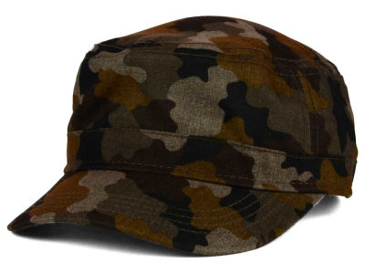 LIDS Private Label PL Adjustable Camo Fatigue Military Cap