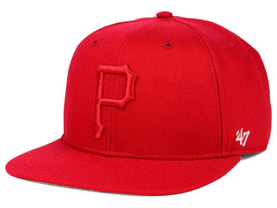 Pittsburgh Pirates '47 MLB '47 Tonal America Sure Shot Snapback Cap