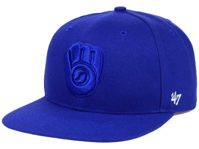 Milwaukee Brewers '47 MLB '47 Tonal America Sure Shot Snapback Cap
