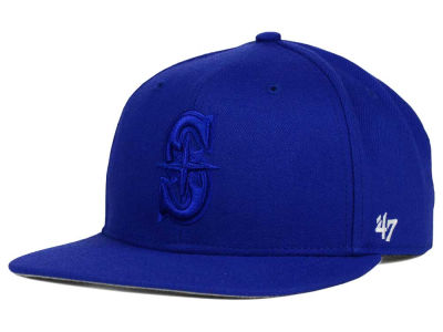Seattle Mariners '47 MLB '47 Tonal America Sure Shot Snapback Cap