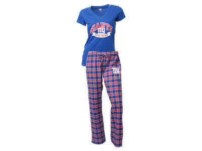 New York Giants NFL Women's Medalist Sleep Set