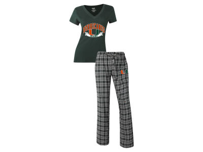Miami Hurricanes NCAA Women's Medalist Sleep Outfit