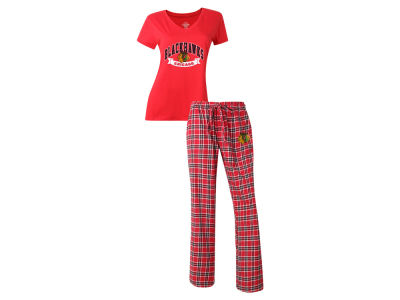 Chicago Blackhawks NHL Women's Medalist Sleep Outfit