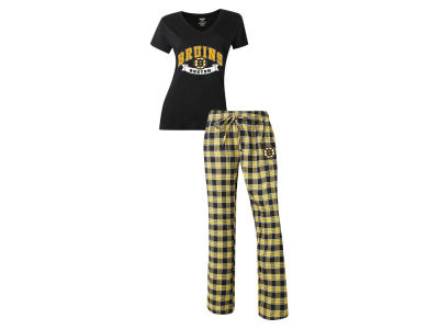 Boston Bruins NHL Women's Medalist Sleep Outfit