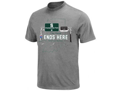 Michigan State Spartans Retro Brand NCAA Men's 2015 Final Four Interstate T-Shirt
