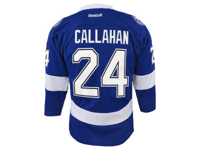 Tampa Bay Lightning Ryan Callahan Reebok NHL Youth Replica Player Jersey