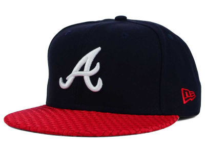 Atlanta Braves New Era MLB Wovenrine 59FIFTY Cap
