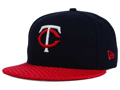 Minnesota Twins New Era MLB Wovenrine 59FIFTY Cap