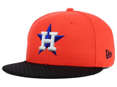 Houston Astros New Era MLB Wovenrine 59FIFTY Cap