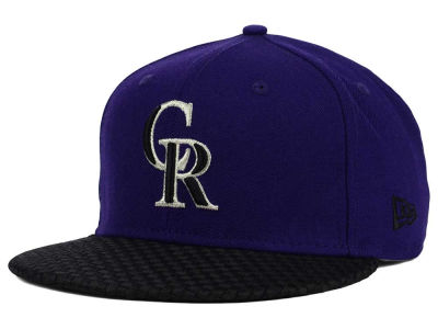 Colorado Rockies New Era MLB Wovenrine 59FIFTY Cap