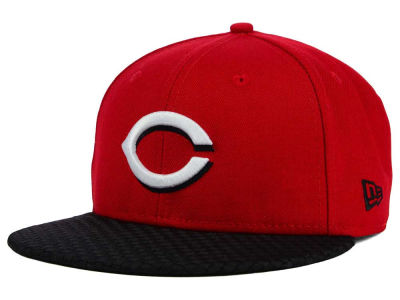 Cincinnati Reds New Era MLB Wovenrine 59FIFTY Cap