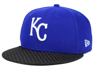 Kansas City Royals New Era MLB Wovenrine 59FIFTY Cap