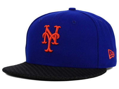New York Mets New Era MLB Wovenrine 59FIFTY Cap